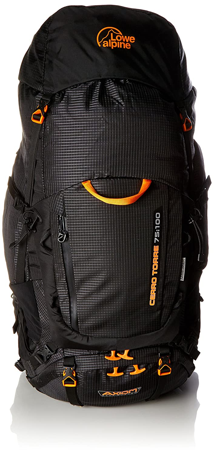 3cf192ae6ec Lowe Alpine Cerro Torre Regular Black Rucksack (75-100 L): Amazon.in: Bags,  Wallets & Luggage