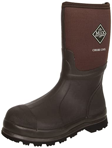 Amazon.com | MuckBoots Chore Cool Mid Waterproof Work Boot ...