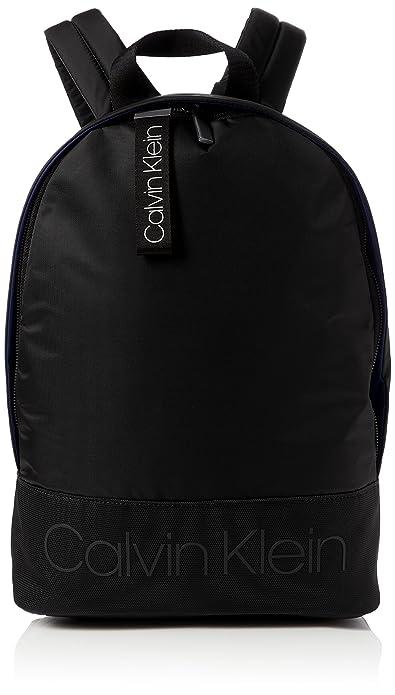 ded693a97a Calvin Klein Jeans Shadow Round Backpack, Men's Black, 15x42x30 cm (B x H T