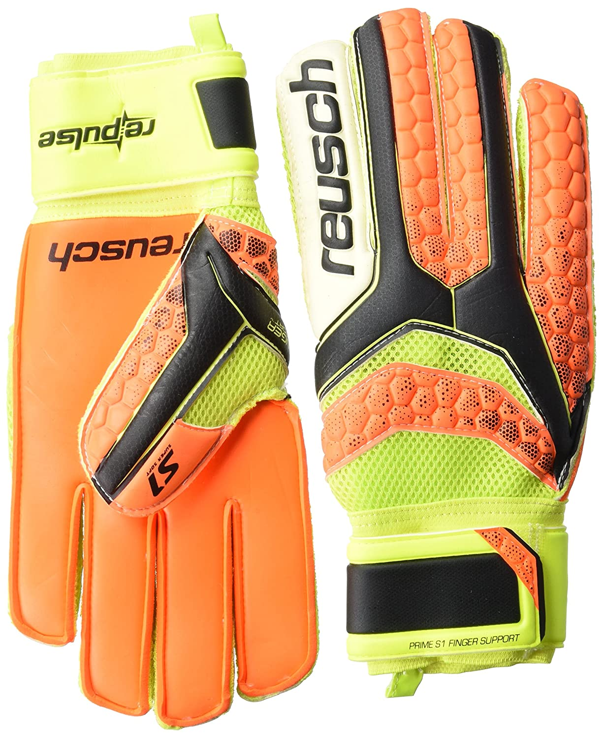 Reusch Herren Re Pulse Prime S1 Finger Support Torwarthandschuh