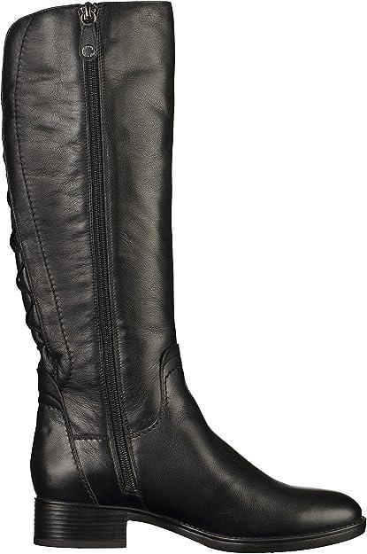 Geox D64G1A Damen Stiefel Schwarz, EU 41: Amazon.de: Schuhe & Handtaschen