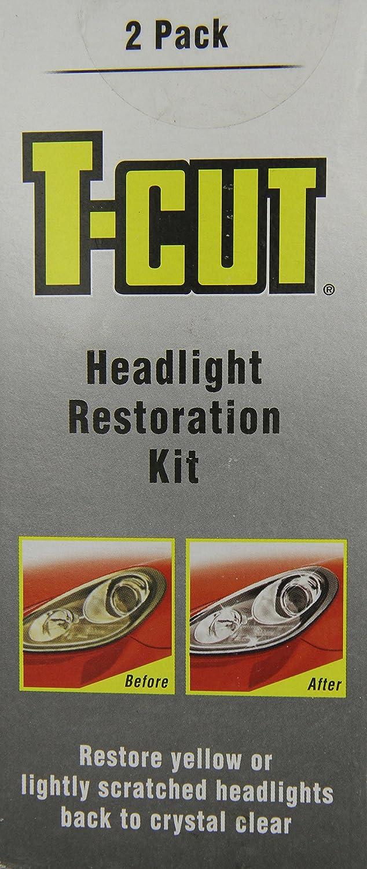 T-Cut Kit de restauration pour phares rayé s ou ternis THK001