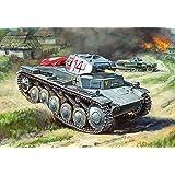 ズベズダ 1/100ドイツ軍 2号軽戦車 プラモデルZV6102