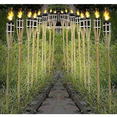 10 Stück Sommerparty Ersatzdochte für Bambusfackeln Gartenparty