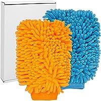 Lakvriendelijke microvezel washandschoenen voor auto's, Extreem absorberend en zacht, Nat of droog te reinigen…