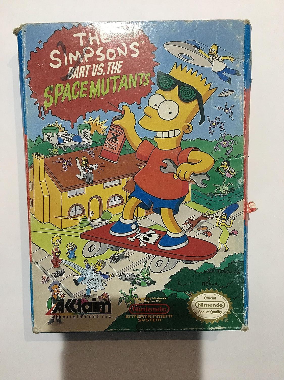 Amazon com: The Simpsons: Bart vs  the Space Mutants