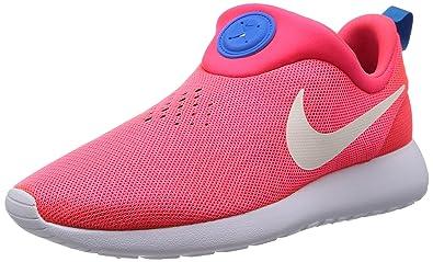lowest price 10810 64945 Nike Mens Rosherun Slip On Laser CrimsonWhitePhoto Blue Loafers  Slip-