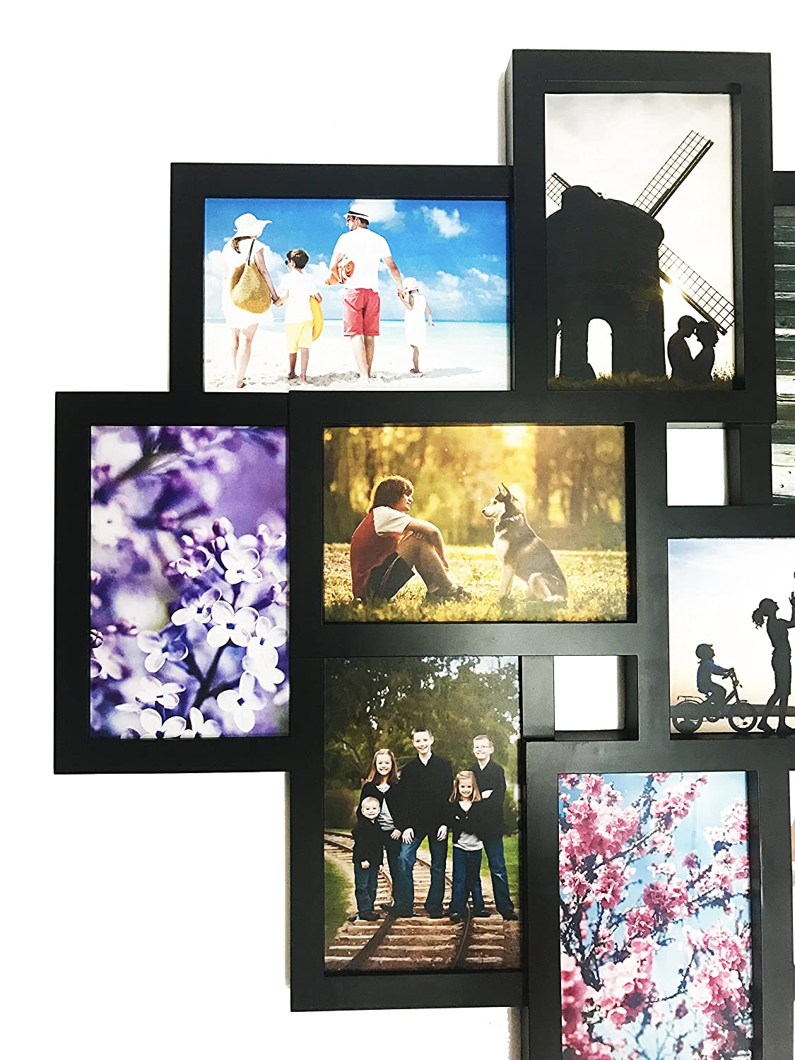 Amazon.com - BestBuy Frames Wall Hanging Large 10-Piece Multiple ...
