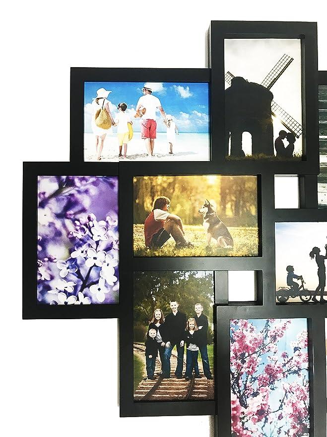 Amazon.de: BestBuy Frames Wand aufhängen, große 10 mehreren Öffnung ...