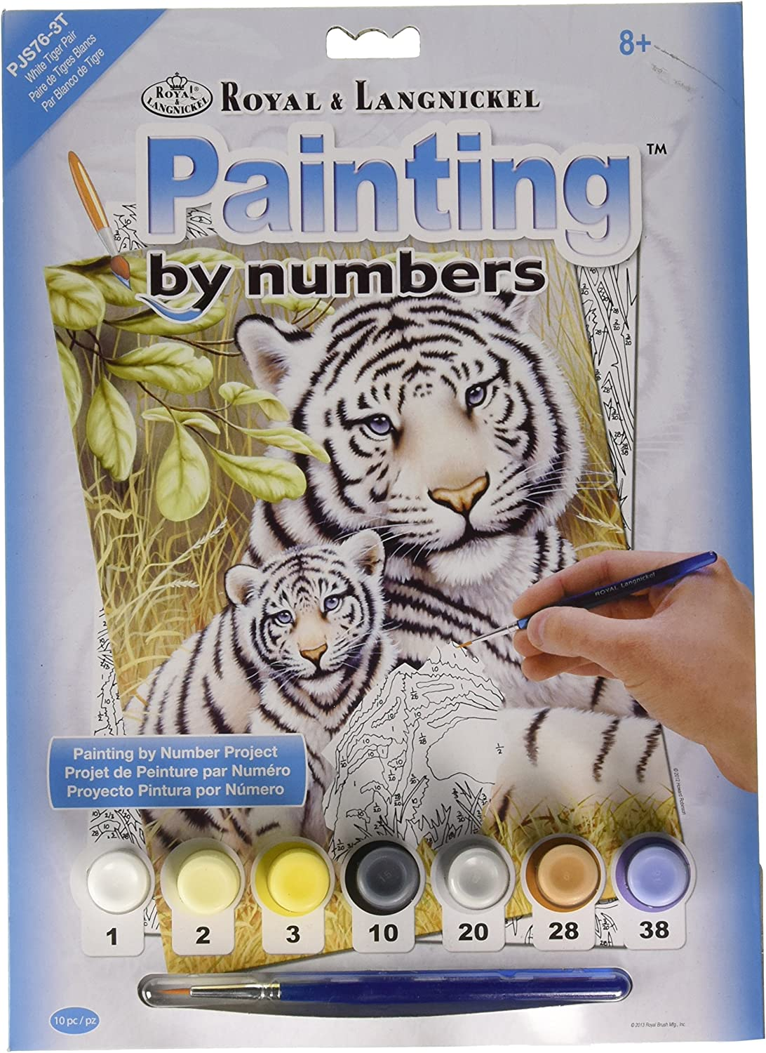 Royal /& Langnickel Dolphins Painting by Numbers Kit PJS24