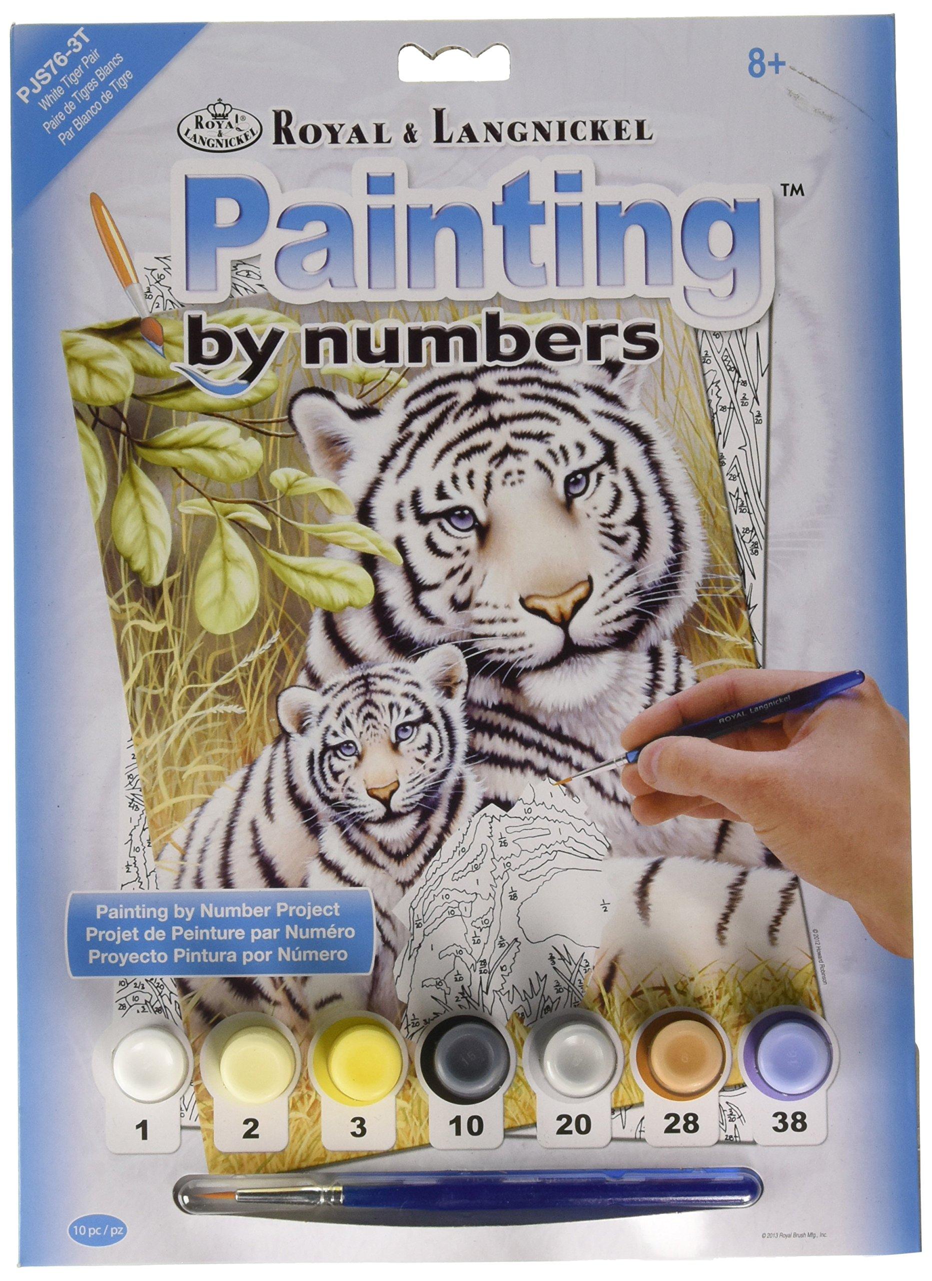 Pintura Por Numeros (itm25656) Tigre