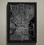 Philadelphia Map Print, Wall Art for your Home or office Decor