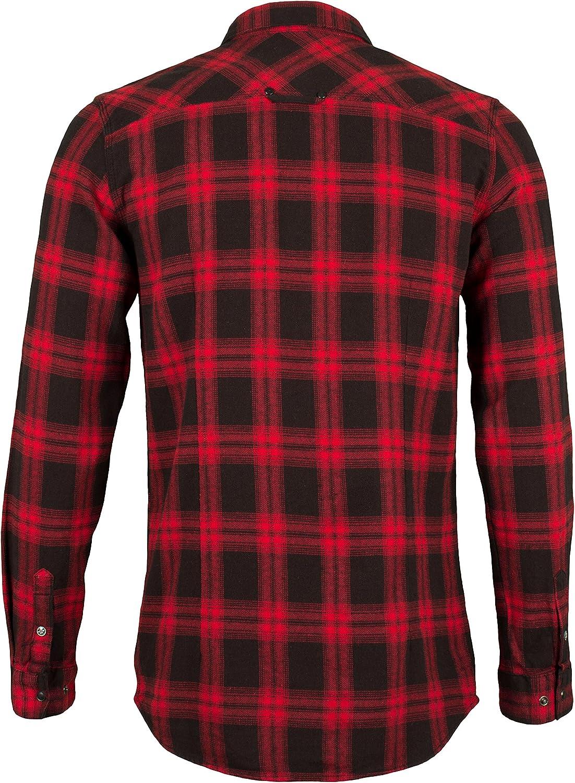 Harley-Davidson Mens Plaid Lightweight Flannel Slim Fit Shirt 99023-16VM