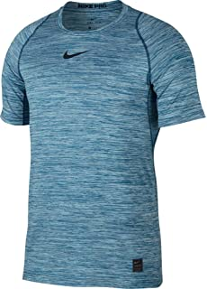 Men's Clothing Clothing, Shoes & Accessories Nike Pro Mens Fitted Short Sleeve Shirt Silver Gray Size L