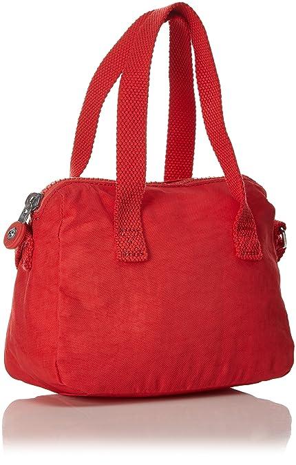 2da6b72f6e92 Kipling Leike Extra Small Shoulder Bag Happy Red Mix  Handbags  Amazon.com
