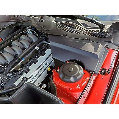 JLT Strut Covers Textured Black (2015-19 Mustang All): Automotive