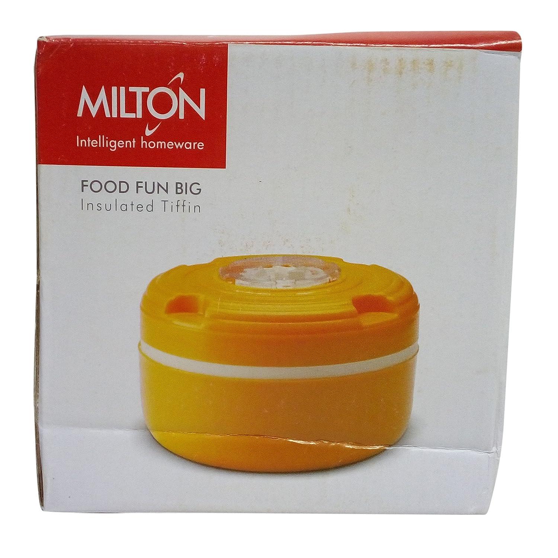 Milton Food Fun Big Insulated Tiffin Box, Orange