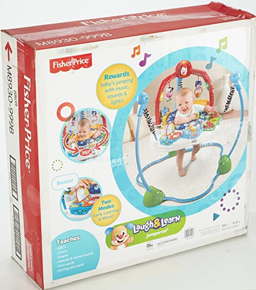 f9ae3b9712a0 Amazon.com   Fisher-Price Laugh   Learn Jumperoo   Early Development ...