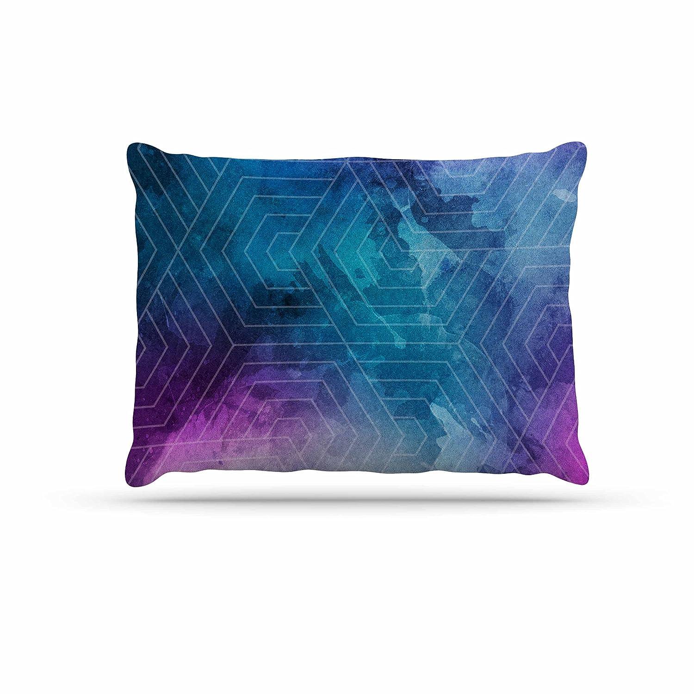 KESS InHouse Matt Eklund Lost City Tan Geometric Dog Bed, 50  x 40