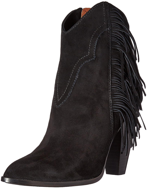 FRYE Women's Remy Fringe Short Boot B0193Z7RZS 6.5 B(M) US|Black