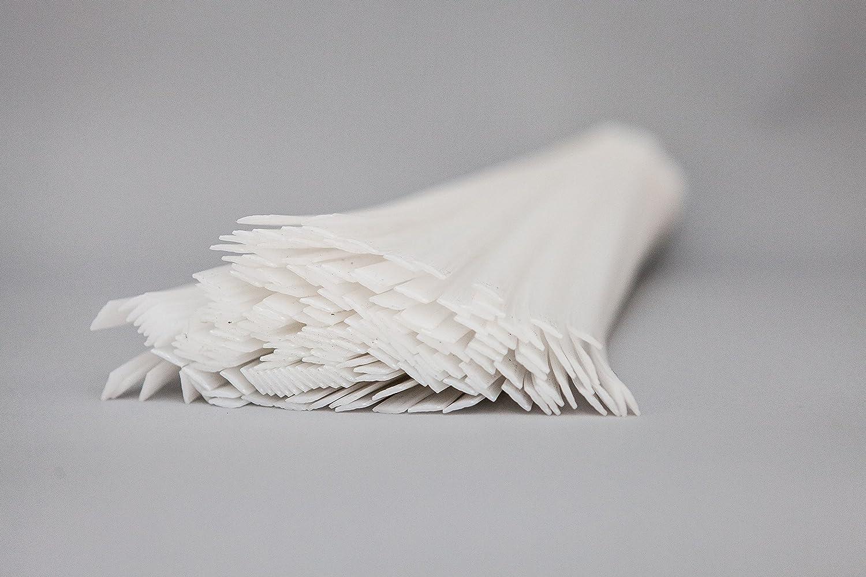 6/mm Plastica soluzioni UK pom plastica bacchette per saldatura forma piatta nero