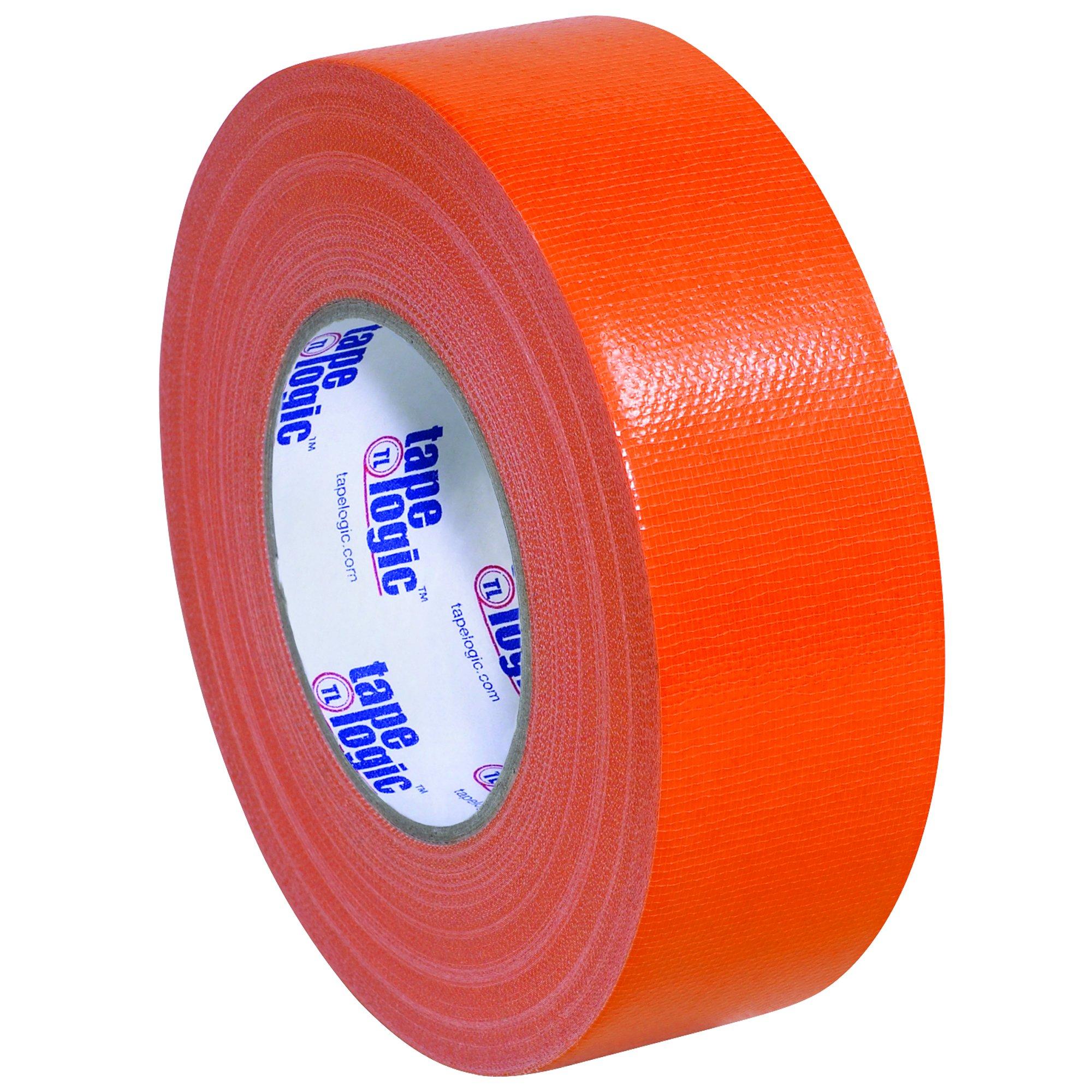 BOX USA BT987100RN Orange Tape Logic Duct Tape, 10 mil, 2'' x 60 yd. (Pack of 24)