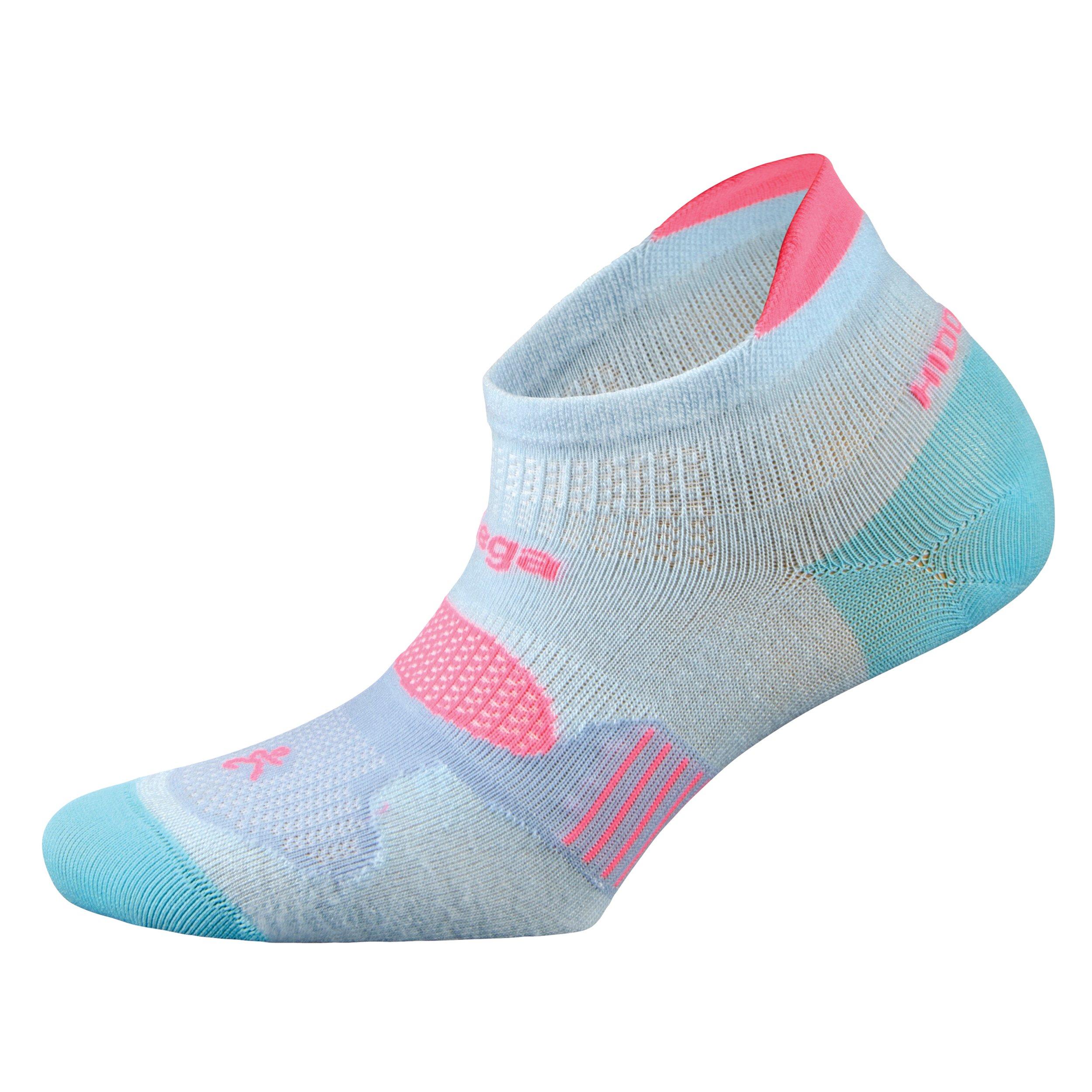Balega Hidden Dry Moisture-Wicking Socks For Men and Women (1 Pair), Cool Blue, Large by Balega