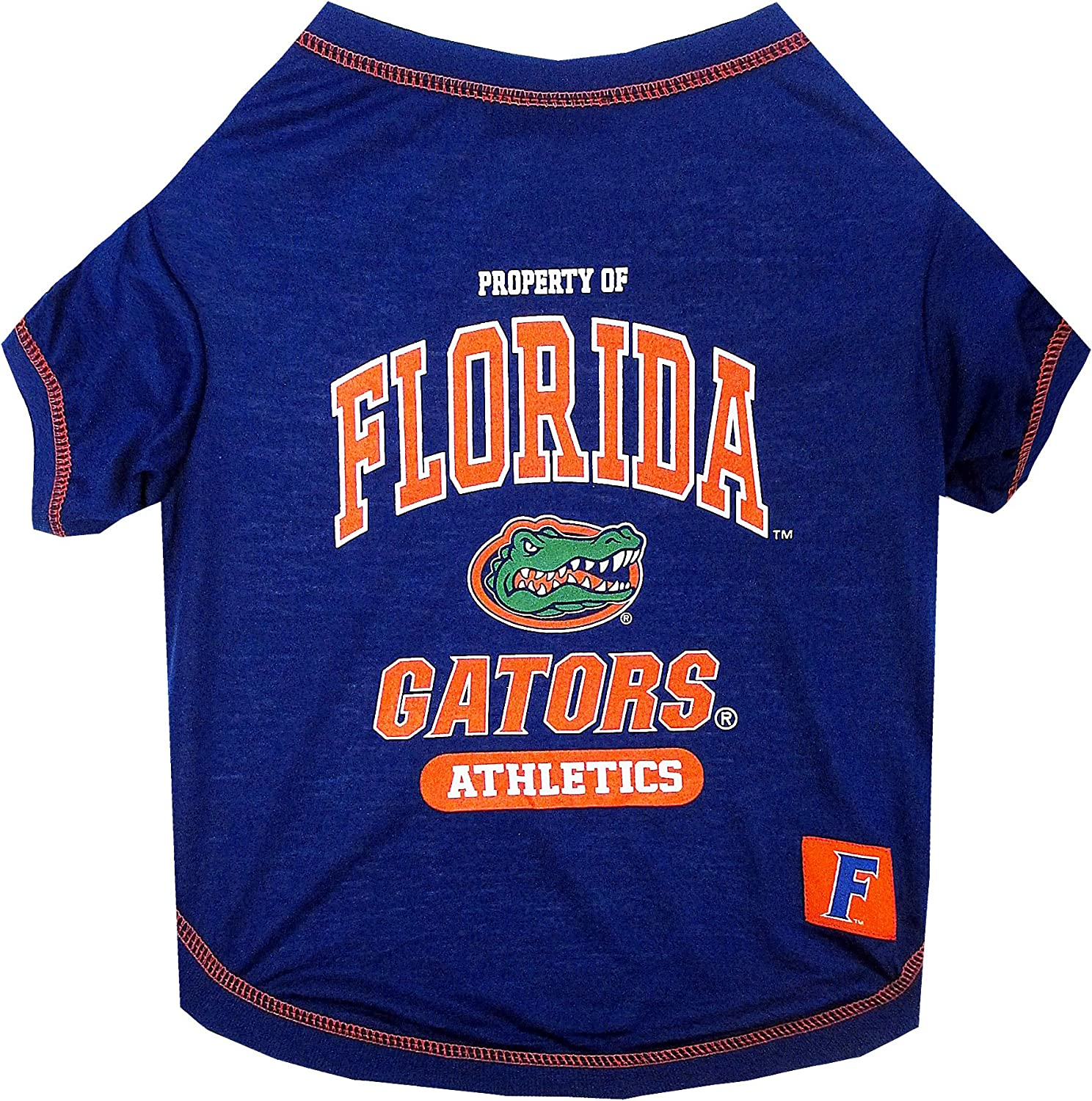 5 Sizes available in 50+ SCHOOL TEAMS COLLEGIATE DOG SHIRT COLLEGE PET OUTFIT NCAA T-SHIRT Football /& Basketball DOGS /& CATS SHIRT Durable SPORTS PET TEE DOG TEE SHIRT