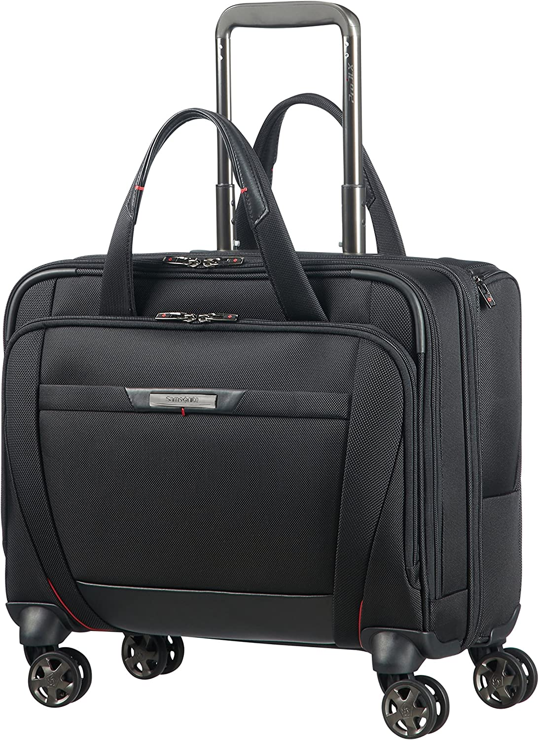 Samsonite PRO-DLX 5 - Spinner Tote for 15.6'' Laptop 3.3 KG Bolso de viaje, 44 cm, 22 liters, Negro (Black)