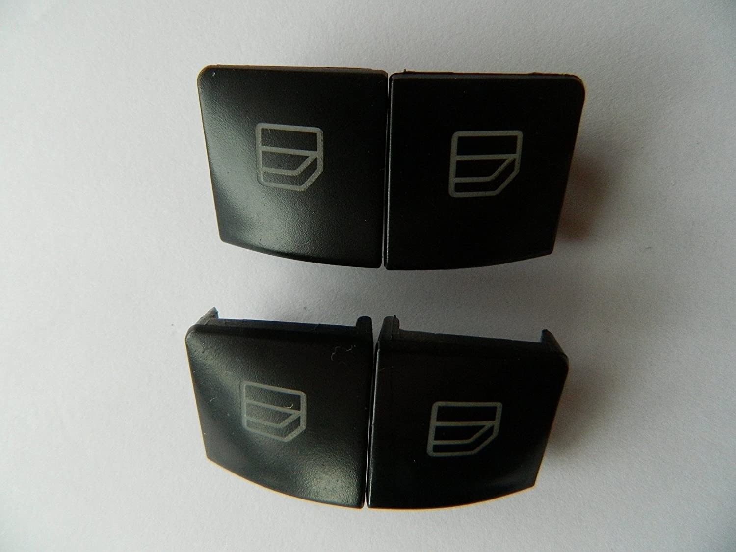 Driver Side for Mercedes A 204 905 5402 Bross BDP109 2 Pieces Window Switch Button Cover Set Front Left Door