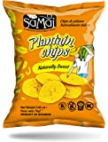 Samai Plantain Chips Naturally Sweet 2.65 oz (Pack of 15)
