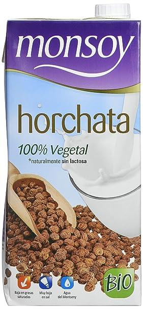 MONSOY Bebida de Horchata Ecologica 1L [caja de 4 x 1L]