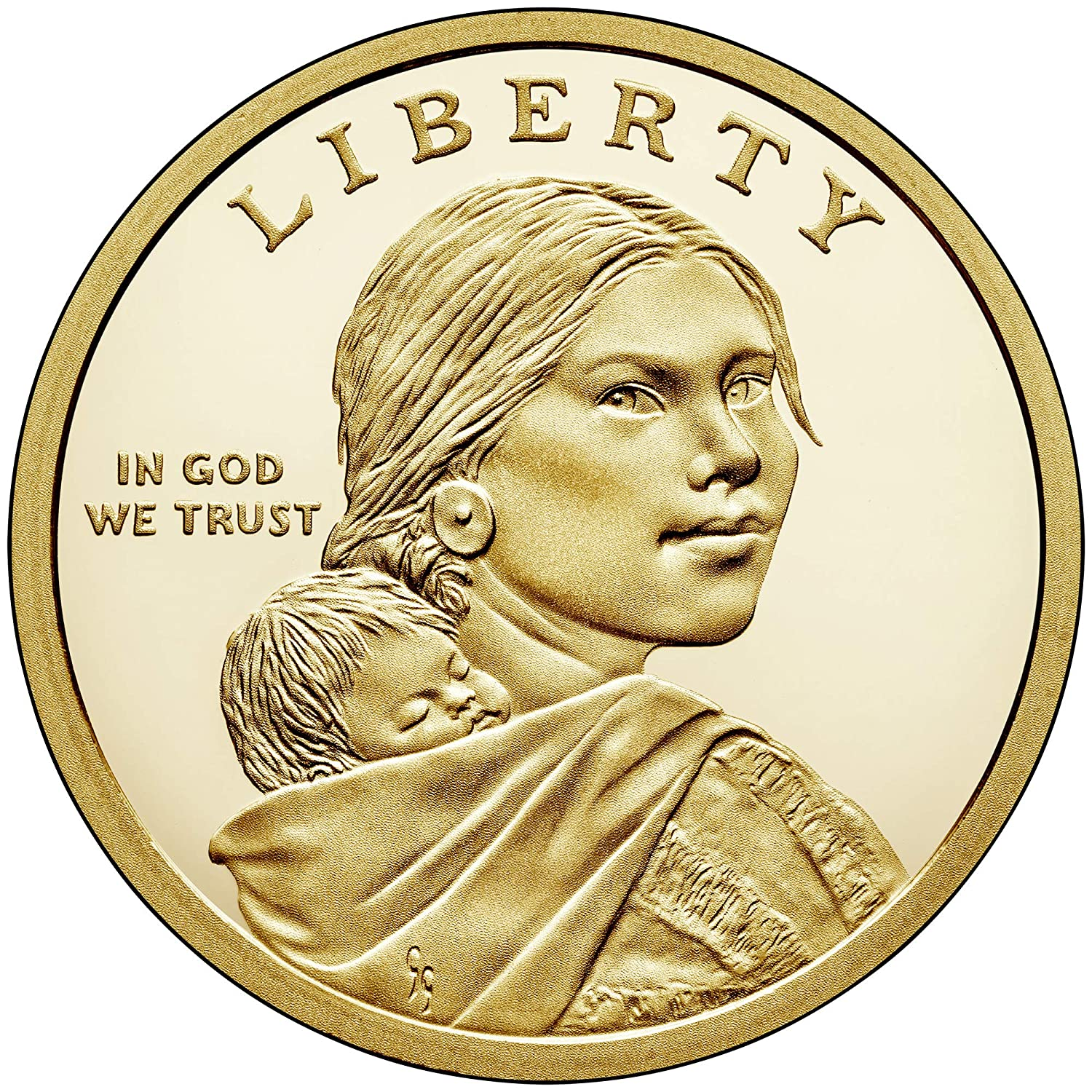 2019 S PROOF Native American Dollar  sold in mint plastic