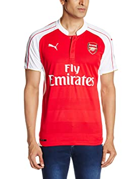Puma AFC Home Replica with Sponsor Camiseta, Hombre, Rojo, XL