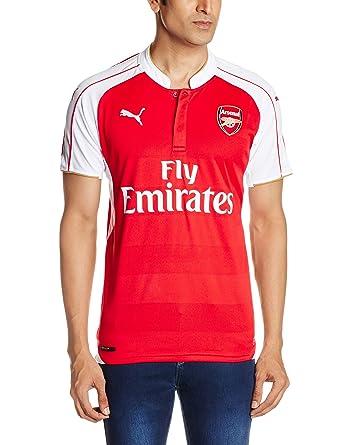 432f0a016 Puma Men s T-Shirt (4055262695606 74756601 X-Small High Risk Red-White-Gold)