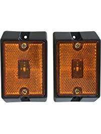 MaxxHaul 80745 Side Marker LED Amber Light - 2 Pack