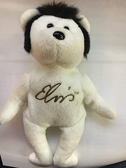 Amazon.com  TY Beanie Baby - VIVA LAS BEANIES the Elvis Bear  Toys ... 4d989d44ae0