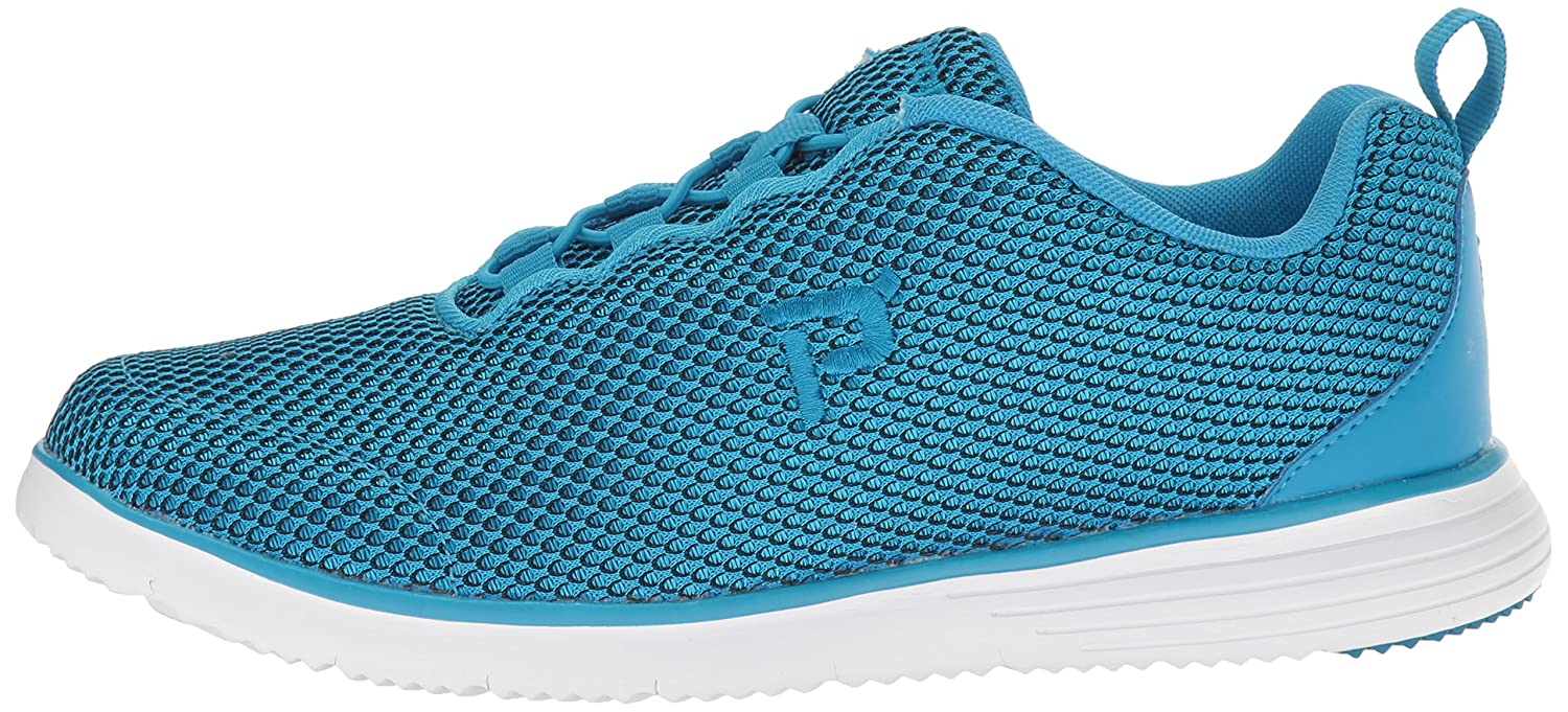 Propet Women's B01IOE0YVI TravelFit Prestige Walking Shoe B01IOE0YVI Women's 6 4E US|Blue/Black e14c7f