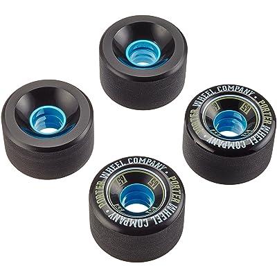 NICE LONGBOARDS hardg Ecomoods Street Accessoires Porter Mini Monkey Wheel, noir, 65x 41,5mm 78A, prt003