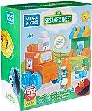 Mega Bloks Sesame Street Cookie Monster's Foodie Truck Building Set