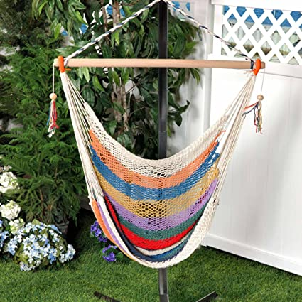 Ordinaire Bliss Hammocks BHC 412 Island Rope Hammock Chair