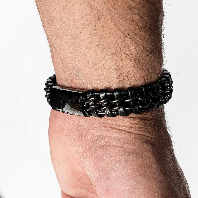Mens Bracelet Braided Bracelet Blue Cuff Bracelet Woven Wrap Jewelry Burning Men Festival Mens Boyfriend Birthday Gift Z