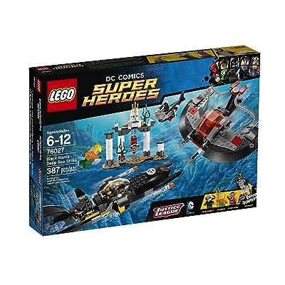 LEGO Superheroes Black Manta Deep Sea Strike Building Set 76027: Toys & Games