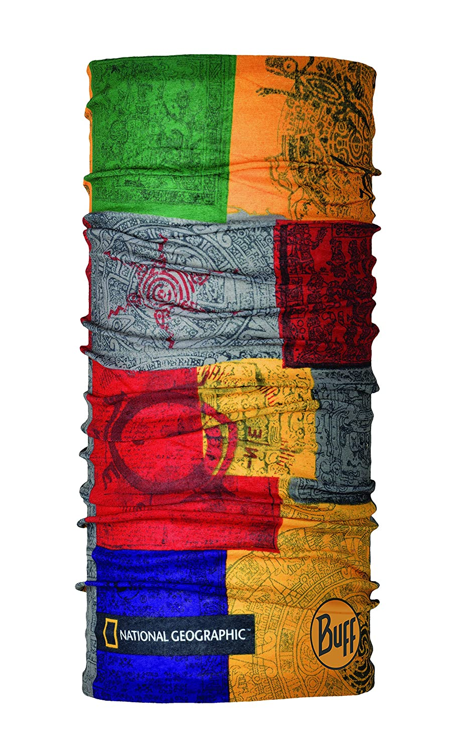 Buff Original National Geographic Schlauchschal, Temple Multi, One Size Original Buff S.A. 118258.555.10.00