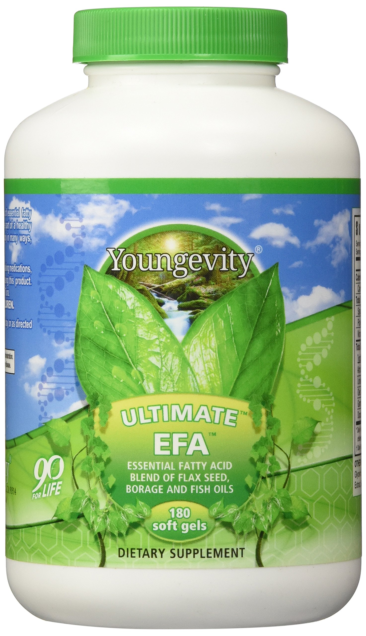 ULTIMATE EFA - 180 SOFTGELS by Youngevity (Image #1)