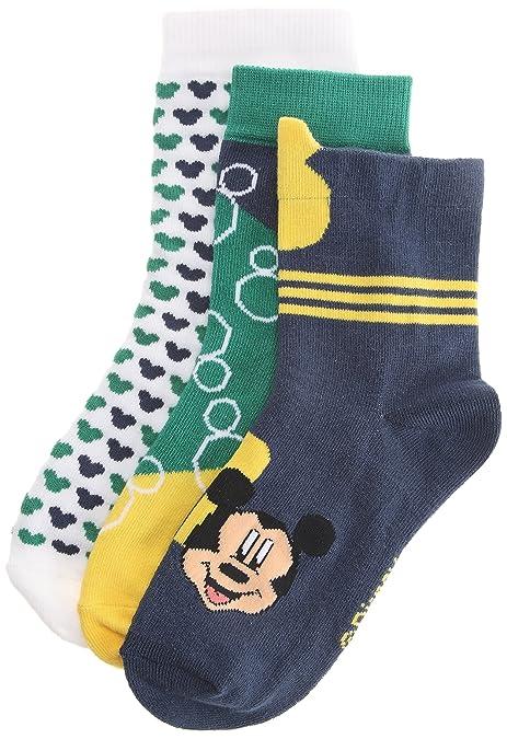 Adidas T Disney Mickey-Calcetines de Deporte para niño, Azul (Bleu ...