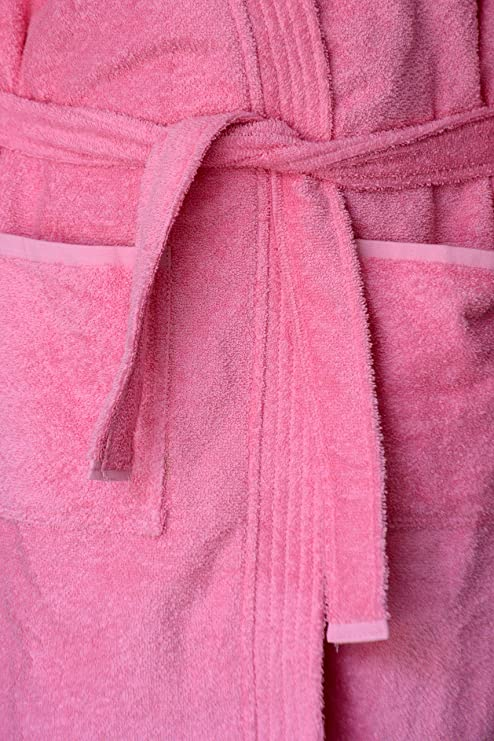 ... Hood and Zip-Packing (  official photos 97411 3679a Loomkart Very Fine  Export Quality Bath Robes in Pink in Avioni Zip ... 7f8933f84