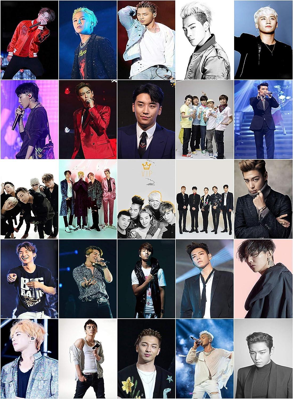 BIGBANG K Pop pcs//set Carte Paster IC Carte Autocollant de crédit