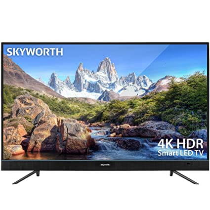 f123abd6a6e45 Image Unavailable. Image not available for. Color  Skyworth U5A Series  49 quot  Inch 4K UHD LED HDR A53 Quad-Core Android TV