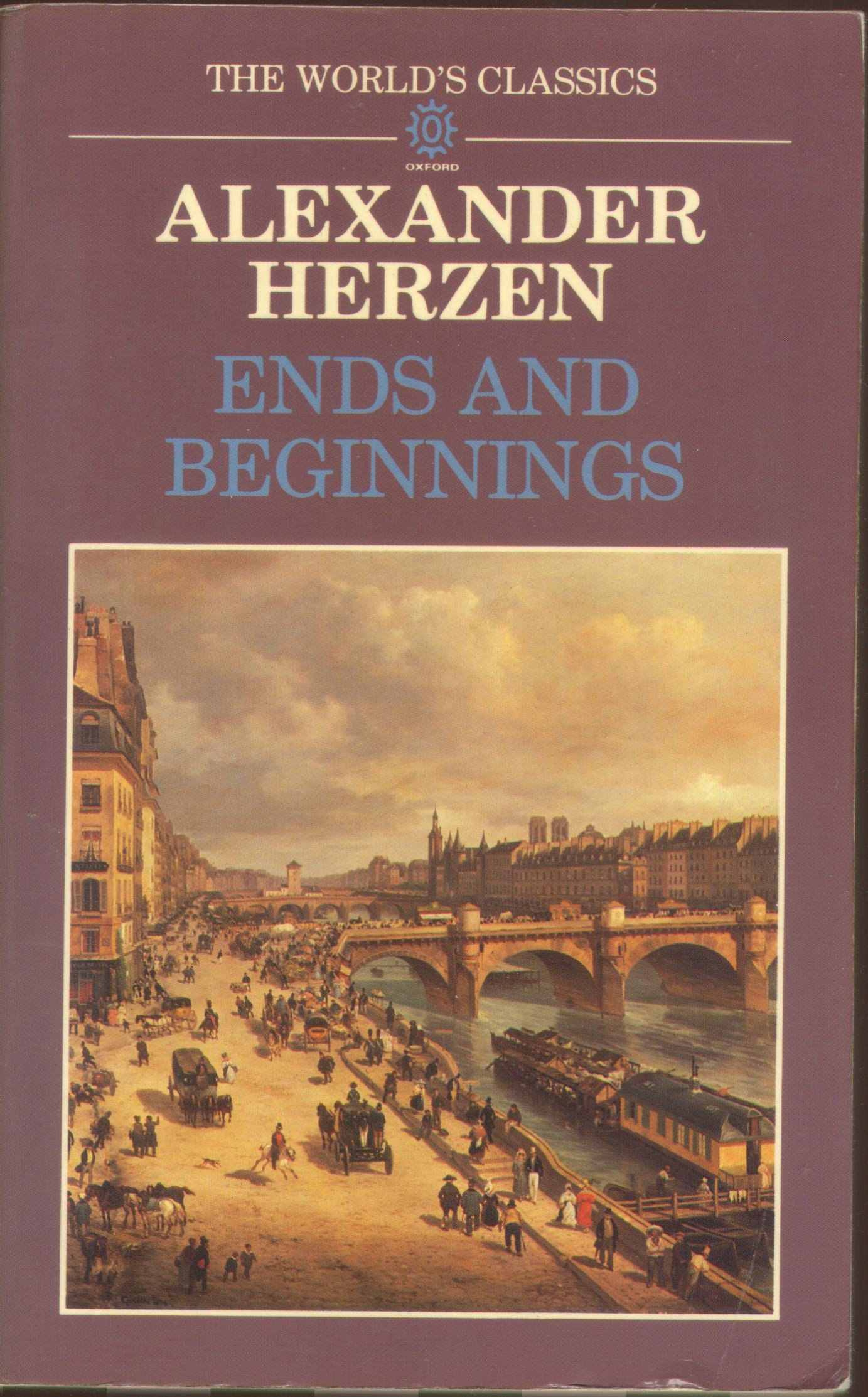 Memoir chronicle of Alexander Herzen Past and Thoughts: a brief summary 48